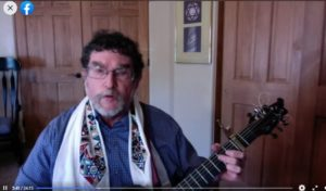 Rabbi Leading from Facebook