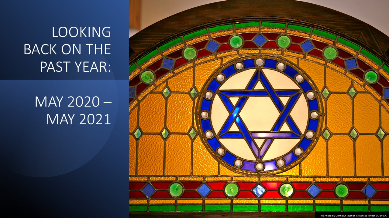 Window with Star of David